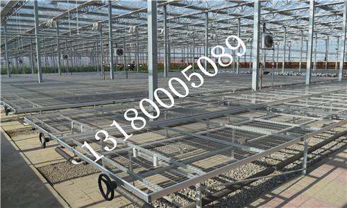 苗床热镀锌、美观、镀锌层厚、抗腐蚀性强、用于温室环境较为理想